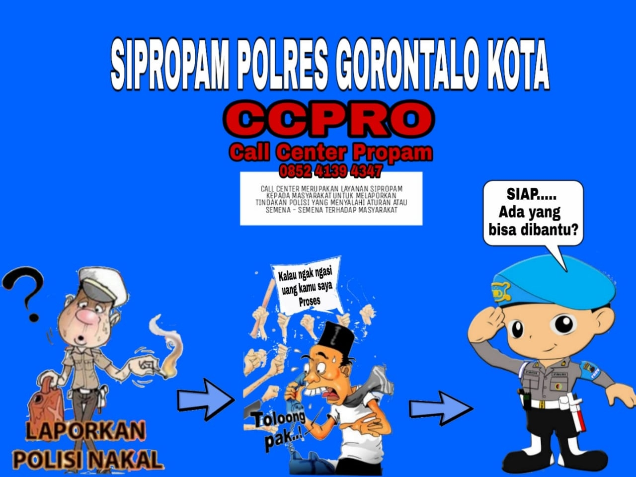 PROPAM POLRES GORONTALO KOTA