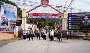 HARI BHAYANGARA KE-74, POLRES GORONTALO KOTA GELAR LOMBA KELURAHAN TANGGUH