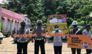 SATLANTAS POLRES GORONTALO KOTA BERSAMA TNI DAN DISHUB GELAR OPERASI KEPATUHAN PROTOKOL KESEHATAN COVID 19