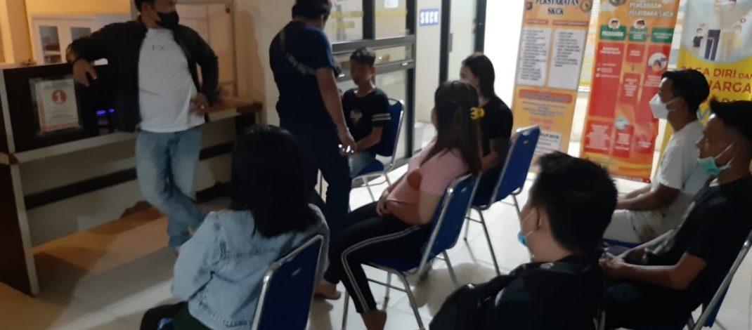 5 Pasangan Diluar Nikah Terjaring Patroli KRYD Polres Gorontalo Kota
